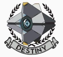destiny ghost insignia Kids Clothes