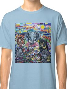 Garden Party - animals take care of the earth Classic T-Shirt