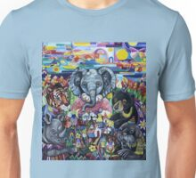 Garden Party - animals take care of the earth Unisex T-Shirt