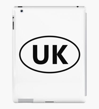 UK Sticker iPad Case/Skin