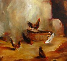 Chicken patch by Jeff Hunter