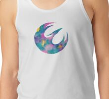 Watercolor Sabine (white) Tank Top
