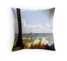 Barbadian Dream Throw Pillow