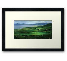 A little piece of heaven - Ireland Framed Print