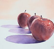 Red Apples by Bobbi Price