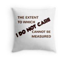 The Extent Throw Pillow