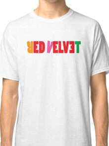 Red Velvet 'The Red' Text Classic T-Shirt