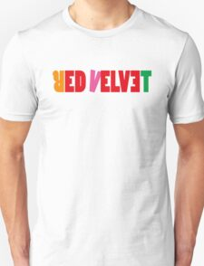 Red Velvet 'The Red' Text T-Shirt