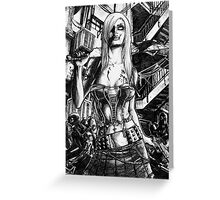 Zombie  Deception Greeting Card
