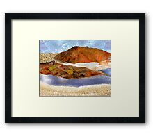 """Big Rock Candy Mountain"" Framed Print"