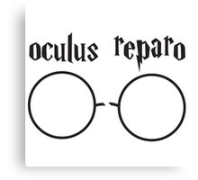 HP - Oculus Reparo Canvas Print