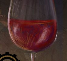 Grunge Wine by creativecurran