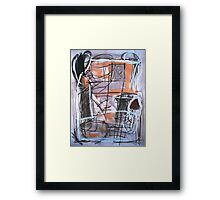 Now is the Time Framed Print