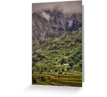 Ogwen Valley, Wales Greeting Card