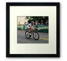 Last Lap to the Victory Framed Print