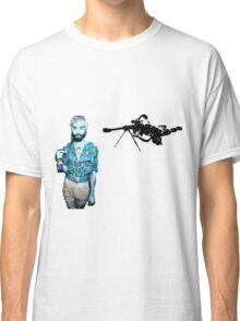 Evil Walks Among Us Classic T-Shirt