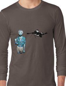Evil Walks Among Us Long Sleeve T-Shirt