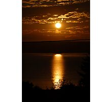Sunset over Vancouver Island Photographic Print