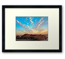 A Little Topsail Island Framed Print