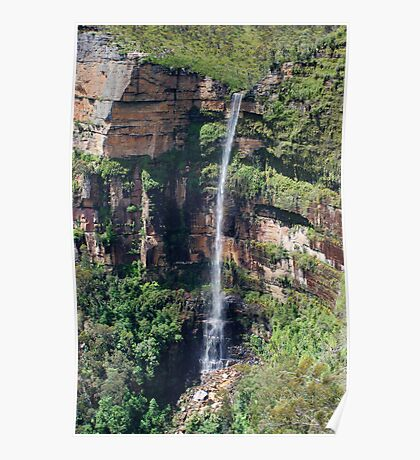 Govett's Leap, Blackheath in the Blue Mountains of NSW, Australia. Poster