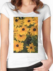 Macro Landscape Women's Fitted Scoop T-Shirt