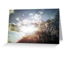 Rays of the Sky Greeting Card