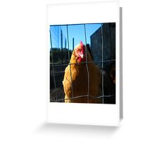 """""""This is NOT henna! I'm a natural redhead."""" Greeting Card"""