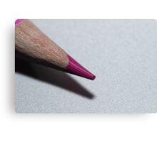 Coloured pencil Canvas Print