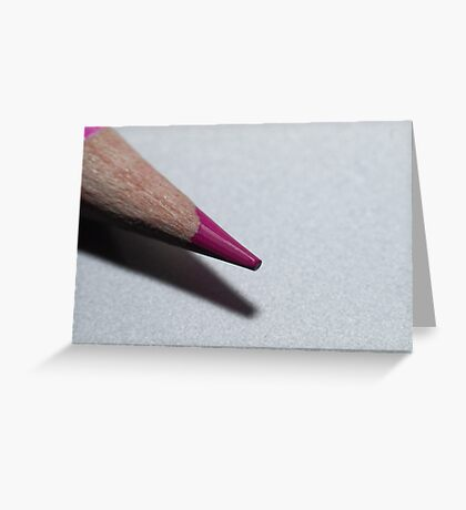 Coloured pencil Greeting Card