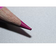Coloured pencil Photographic Print