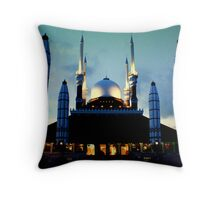 Central Java Grand Mosque Throw Pillow