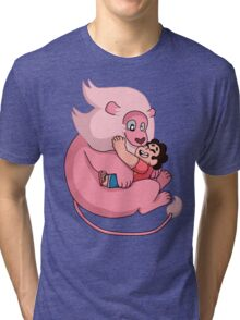 Blink if you love me Tri-blend T-Shirt