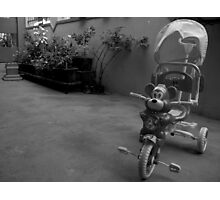 Ride the Tricycle  Photographic Print