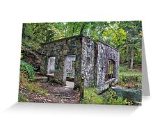 Spring House Greeting Card