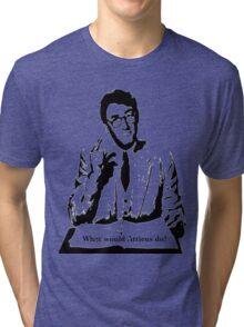 What would Atticus do?  Tri-blend T-Shirt