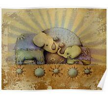 elephant blessing Poster