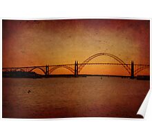 Yaquina Bay Bridge~Newport~Oregon Poster