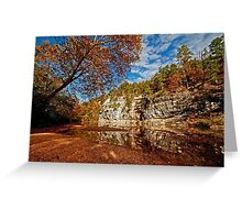 Bluff of the Buffalo National River Greeting Card