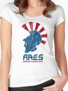 Ares Macrotechnology Women's Fitted Scoop T-Shirt