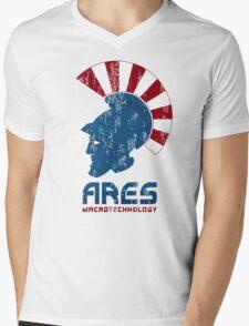 Ares Macrotechnology Mens V-Neck T-Shirt