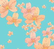 Flowers Pattern 1 by OpenArt