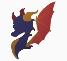 Spyro the Dragon by airdot