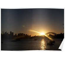 last sunset of 2010 Poster
