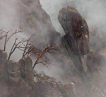 Vertical Granite  by Harry Oldmeadow