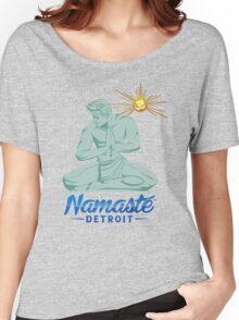 Namaste Detroit Full Color Women's Relaxed Fit T-Shirt