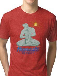 Namaste Detroit Full Color Tri-blend T-Shirt