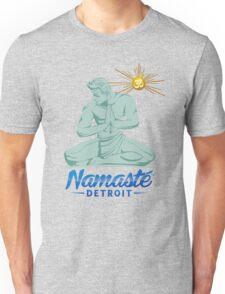 Namaste Detroit Full Color Unisex T-Shirt