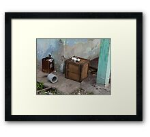 Havana in a Box Framed Print