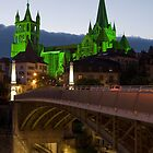 Cathedral Notre-Dame of Lausanne by ammit