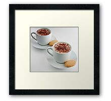 Cappuccino Time Framed Print